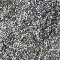 石家庄一系铝塑板分离最薄的铝皮,含铝量38%库存1000吨,可以做静电分离,火烧铝。小炉锭