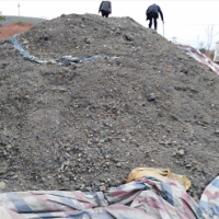 出售硫金原矿,硫10有度,金2-4克,银40-60克,少量铅锌,价格150元每吨,现货3万吨