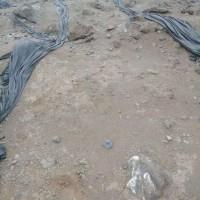 回转窑下来的渣子含银180至220克现货4000吨,货在河南自提计银价一元一克