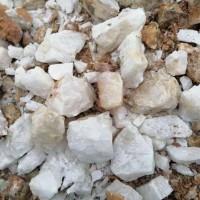 求购:距离河南省三门峡附近,色选过半透石英,0.5---3公分的料
