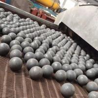 我公司现有一批高锰钢材质 直径60mm 锻造钢球