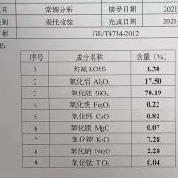 高白 钾钠石粉 1000吨现货氧化硅70.19% 氧化铝 17.5%